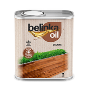 Alyva medienai OIL Decking 0,75 Ltr, Belinka