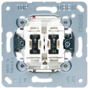 Jungiklis dviejų klavišų su indik.lempute ( 505 KOU 5 ), 1vnt.