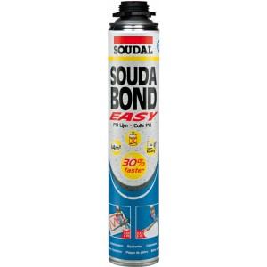 Soudabond Easy GUN termoizoliacinių medžiagų ir gipso klijai 750ml, Soudal