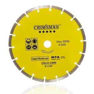 Diskas deimantinis segmentinis 5 žvaigžd. 125mm, CROWNMAN