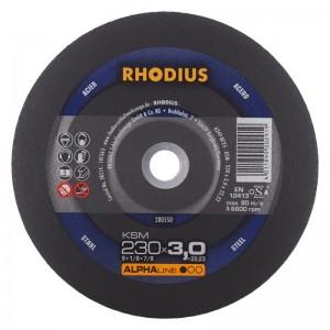 Diskas metalo pj. 125x1.0x22.2, RHODIUS