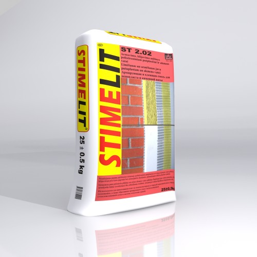 Klijavimo-armavimo mišinys ST2.02 ,Stimelit 25kg.