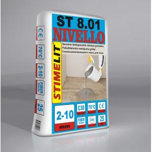 Savaime išsilyginantis grindų mišinys 2-10mm, Stimelit 25Kg.