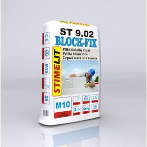 Klijai blokelių mūrijimui ST9.02, Stimelit 25Kg.