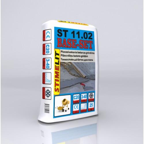 Plonasluoksnis betonas grindims ST11.02  2- 40mm 25Kg, Stimelit