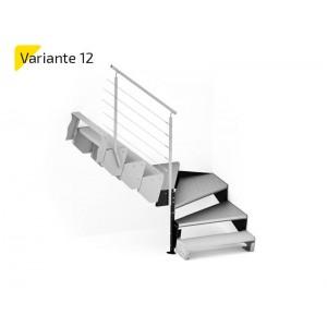Laiptų aikštelė variantas NR12