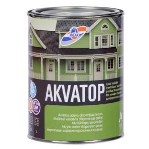 Dažai mediniams fasadams AKVATOP 0,9L