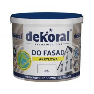 Akriliniai dažai fasadams Dekoral, 1L