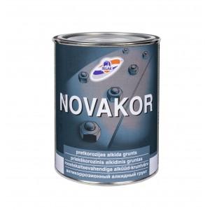 Antikorozinis gruntas Rilak NOVAKOR, 0,9L pilka