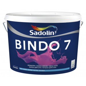 Dažai Sadolin BINDO 7, BW bazė, 10 l