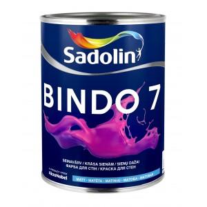 Dažai Sadolin BINDO 7, BW bazė, 1 l