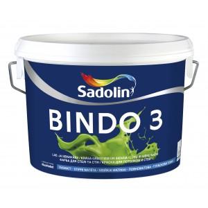 Dažai Sadolin BINDO 3, BW bazė, 2.5 l