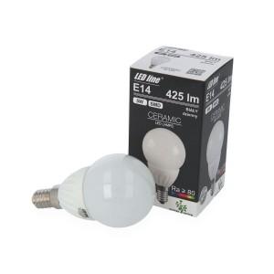 LED lemputė E14 5W 425lm 4000K LED line