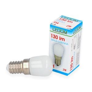 LED lemputė E14 2W 130lm 4000K LEDOM