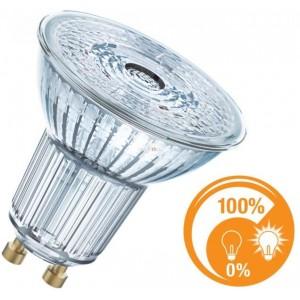 LED lemputė GU10 6.5W 350lm dimeriuojama 2700K 36° Osram