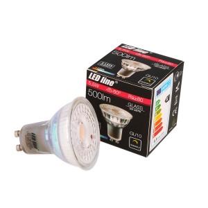LED lemputė GU10 5.5W 500lm dimeriuojama 2700K LED line