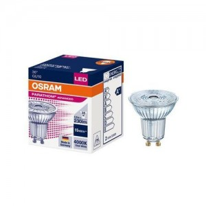 LED lemputė GU10 2.6W 230lm 4000K 36° Osram