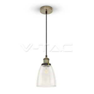 Pakabinamas šviestuvas  1XE27 VINTAGE,LED6833 V-TAC