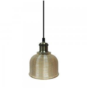 Pakabinamas šviestuvas  1XE27 Gintarinis,led6827 V-tac