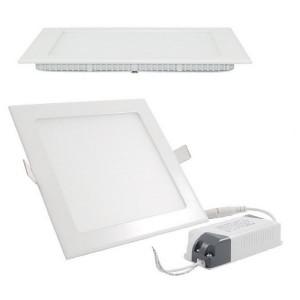 LED šviestuvas įl. kvadratinis 3000K 4LED