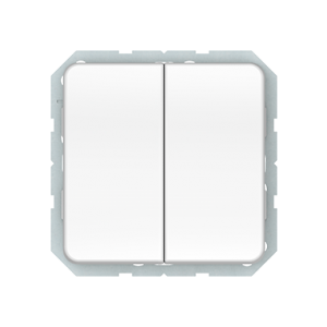 Vilma LX 200 perjungiklis dviejų klavišų (P(6+6)10-020-02 ww)