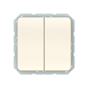 Vilma LX 200 perjungiklis dviejų klavišų (P(6+6)10-020-02 iv)