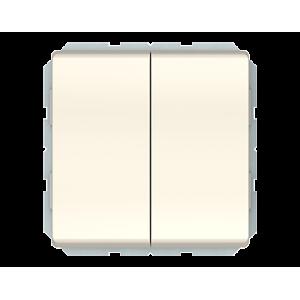 Vilma ST 150 perjungiklis dviejų klavišų (P(6+6)10-020-02 iv)