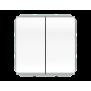 Vilma ST 150 perjungiklis dviejų klavišų (P(6+6)10-020-02 ww)
