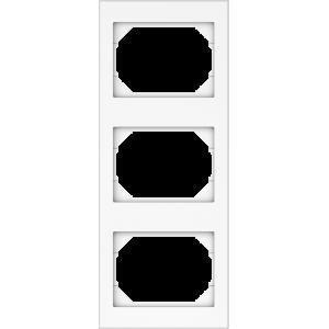 Vilma XP500 rėmelis 3 vietų, vertikalus (RV03 ww)
