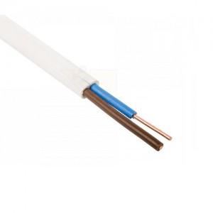 Kabelis BVV-P 2x1,0 mm², plokščias