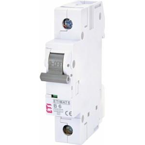 ETI Automatinis jungiklis 1P B6