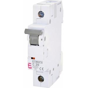 ETI Automatinis jungiklis 1P C20