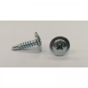 Sraigtas padidinta galva metalui į metalą su grąž. MET/MET ilgis 4.2x13-35mm, 1 dėžutė