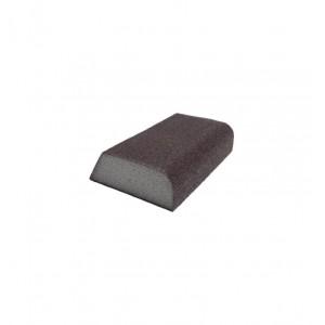 Figūrinė šlifavimo kempinė 100x75x25, P60-P150, 1vnt.