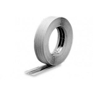 Knauf aliumininė juosta kampams sutvirtinti, 50 mm x 30 m.