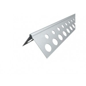 Aliuminio glaistymo kampas 25 x 25 mm. Knauf