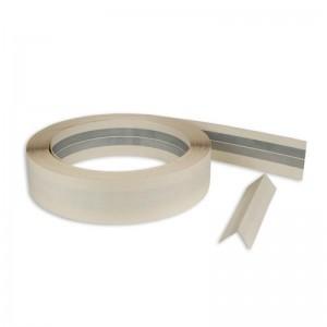 Baukom aliumininė juosta kampams sutvirtinti, 52 mm x 30 m.