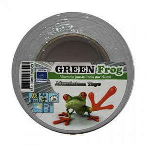 Aliuminio juosta GREEN Frog 48mmx45m