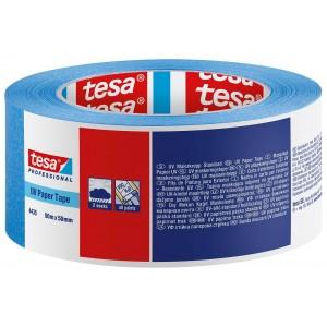TESA mėlyna, UV atspari dažymo juosta laukui  ( 4435 ) 50m.