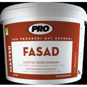 Glaistas išorės darbams, FASAD stambiagrūdis