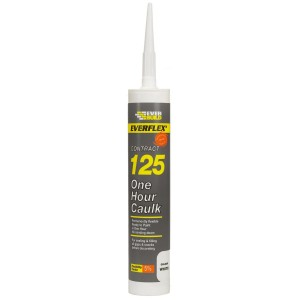 AKRILAS EVERBUILD EVERFLEX 125 ONE HOUR CAULK, 310ml.