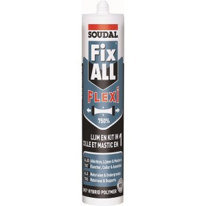 Klijai-hermetikas Fix ALL Flexi 290ml. baltas, Soudal