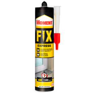 Montažiniai klijai FIX EXPRESS 375gr., MOMENT
