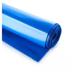 Baseininė plėvelė, polietileno, plotis 4.0m, storis 350mkr, mėlyna/juoda, 1m.
