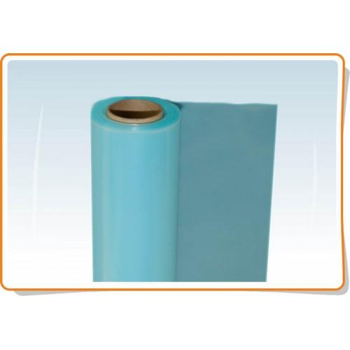 Polietileno plėvelė UV stabilizuota, mėlyna, 200 mkr. (plotis 6m.)