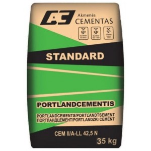 Cementas Standard CEM II/A-LL 42,5 N 35kg.