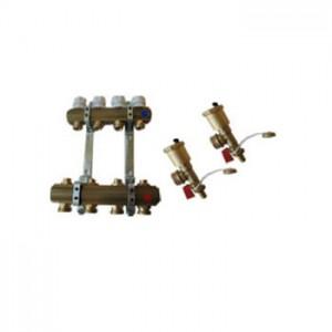 Kolektorius reguliuojamas automatiniu valdymu žalvarinis su laikikliais ir mazgu
