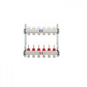 Kolektorius Nerūdijančio plieno su debitomačiais automatinio valdymo su laikikliais ir mazgu