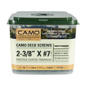 CAMO medsraigčiai ProTech padengimu 60mm, 700 vnt.